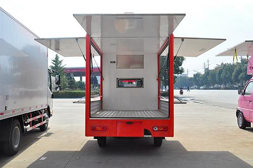 福田伽途T3流动售货车方位图