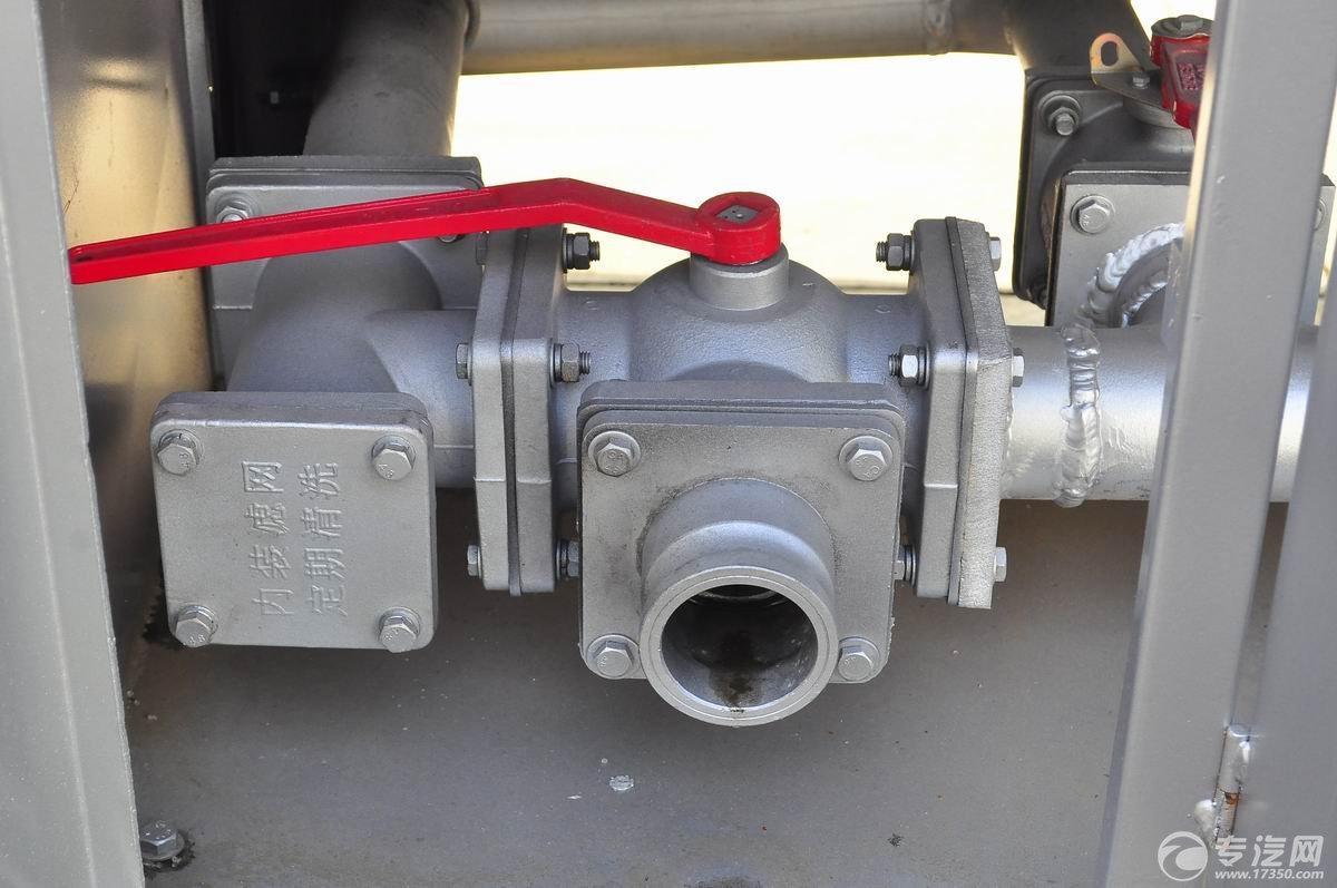 解放新悍威前四后六22.7方加油车油气回收阀