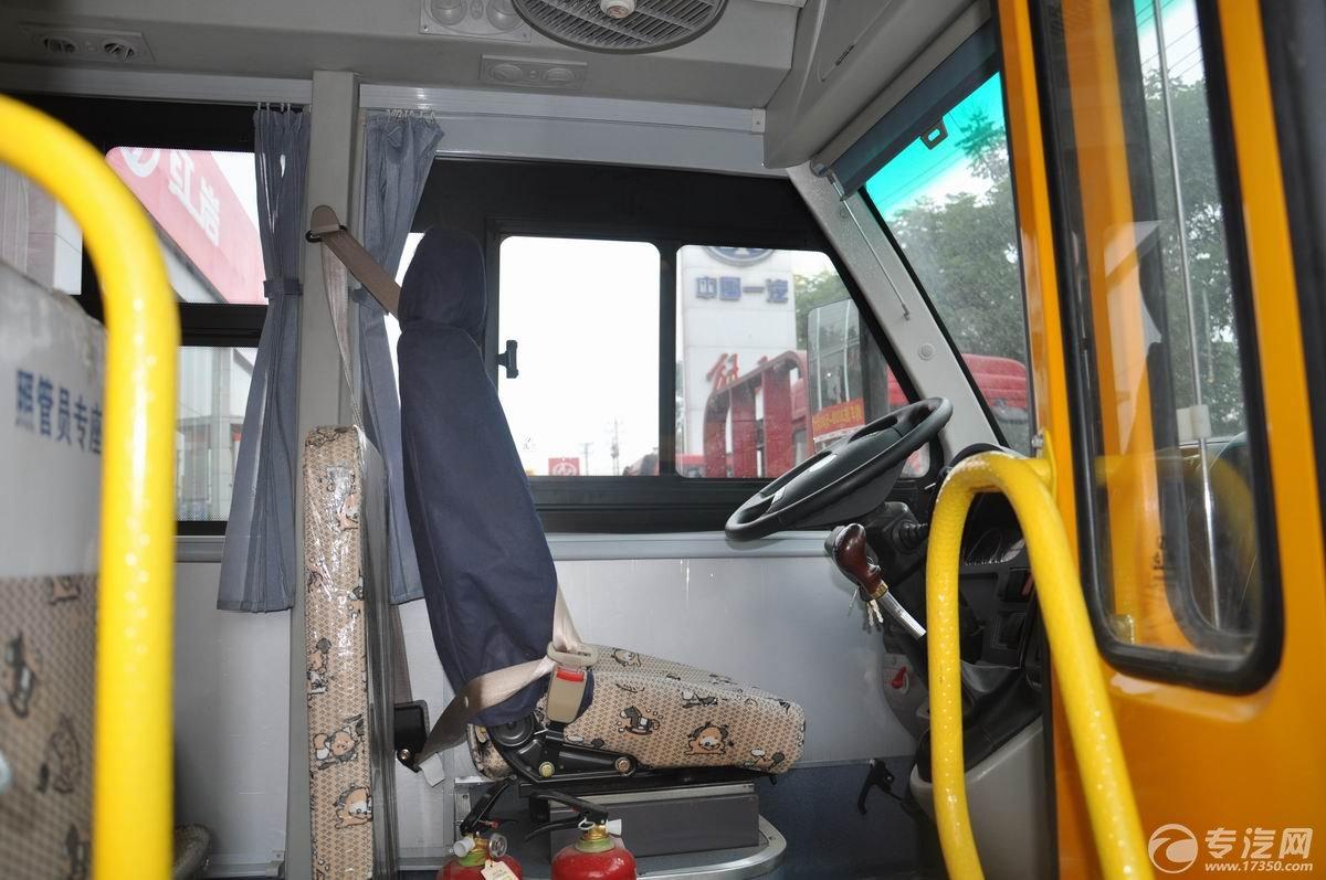 少林19座幼儿园校车驾驶员座椅