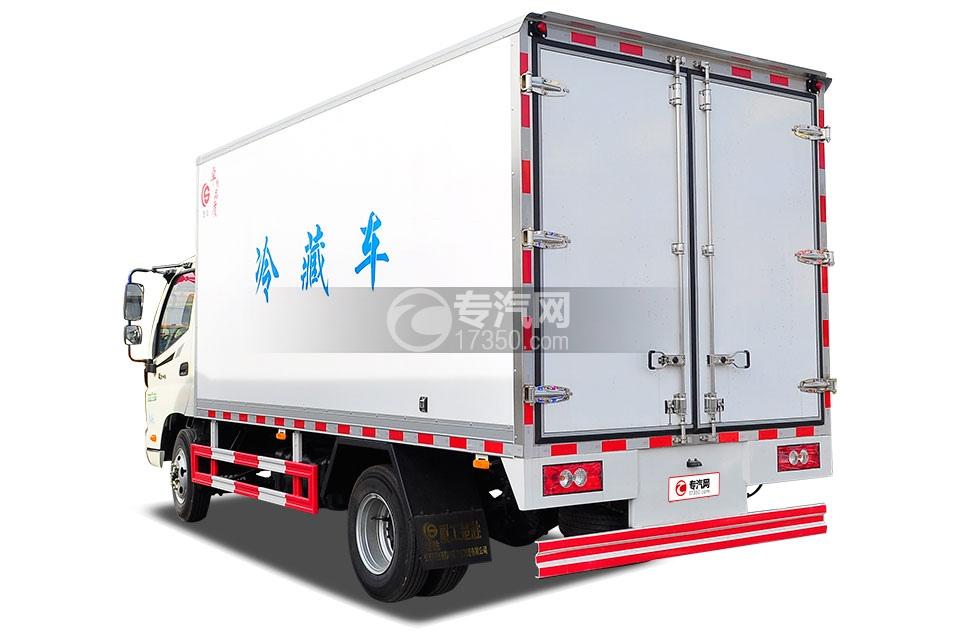 福田欧马可国五冷藏车4