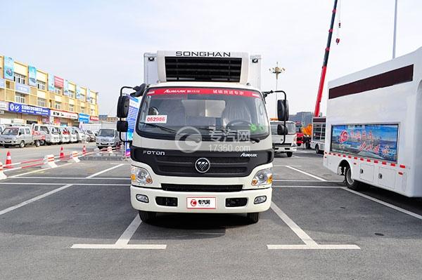 福田欧马可国五冷藏车方位图1