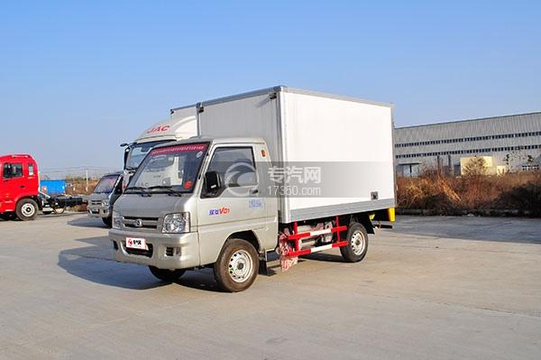 福田驭菱冷藏车方位图4