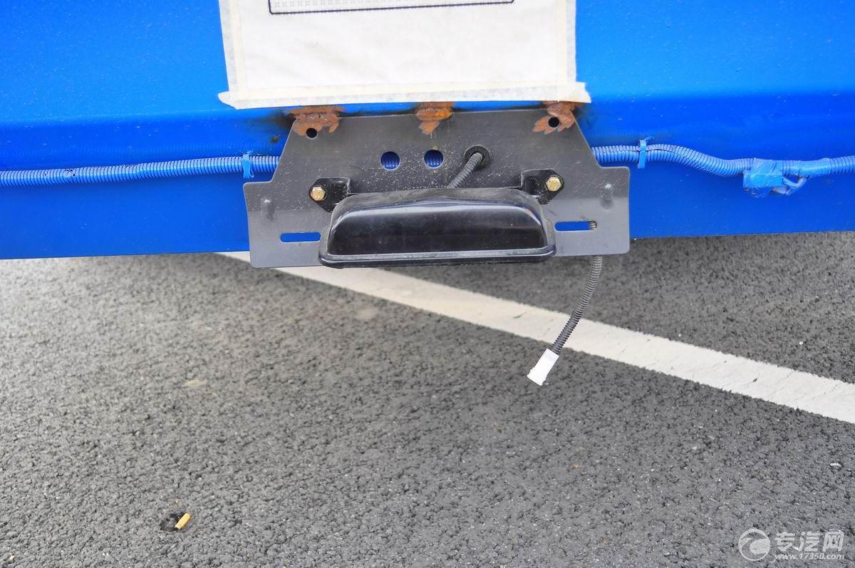 东风多利卡D9压缩式垃圾车防静电装置