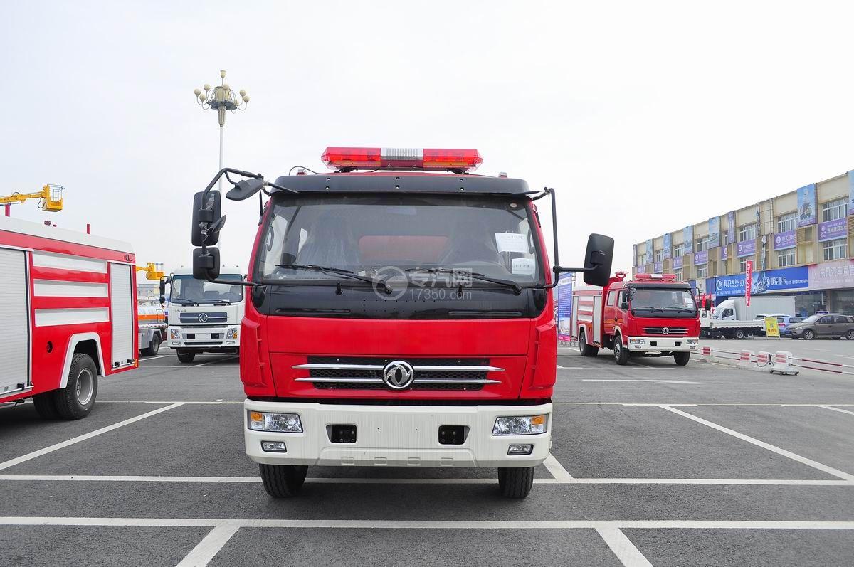 东风多利卡消防车正面图
