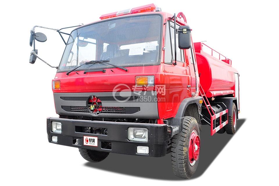 东风145消防车带水罐