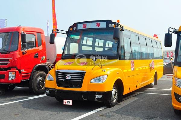 楚风国五56座小学生专用校车方位图2