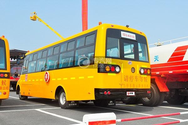 楚风国五56座小学生专用校车方位图3
