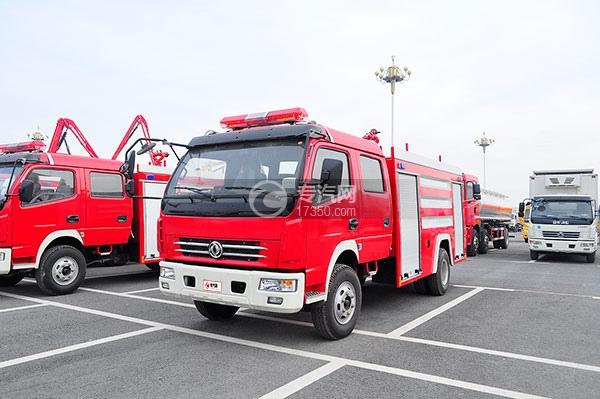东风多利卡消防车方位图1