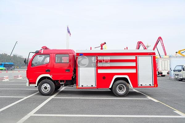 东风多利卡消防车方位图4