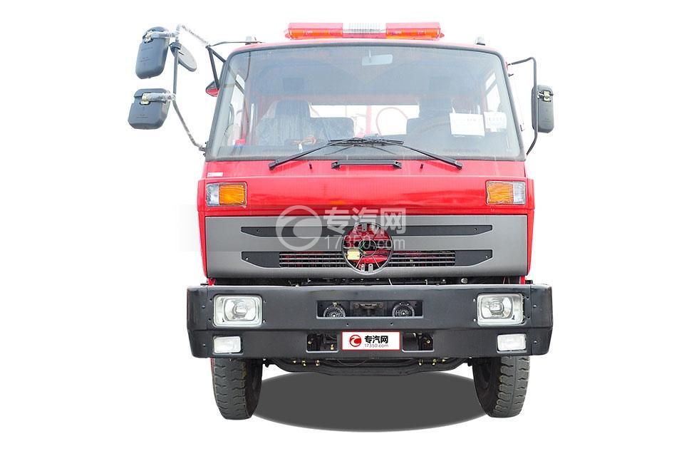 东风145消防车带水罐2