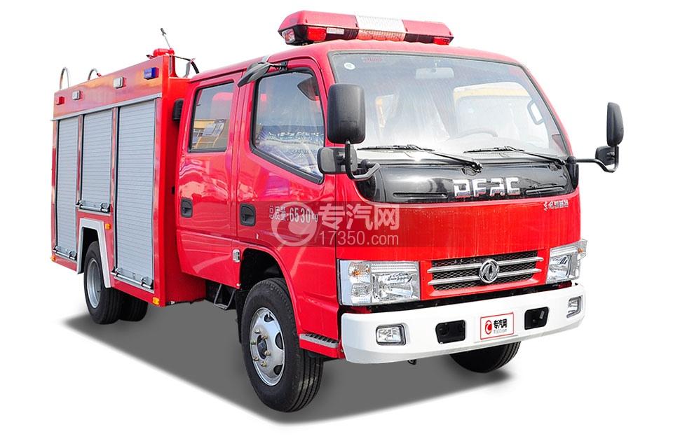 东风凯普特水罐消防车2