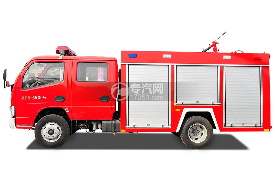 东风凯普特水罐消防车3