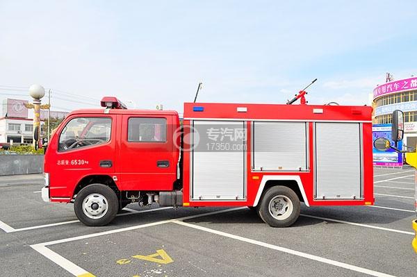 东风凯普特水罐消防车方位图3