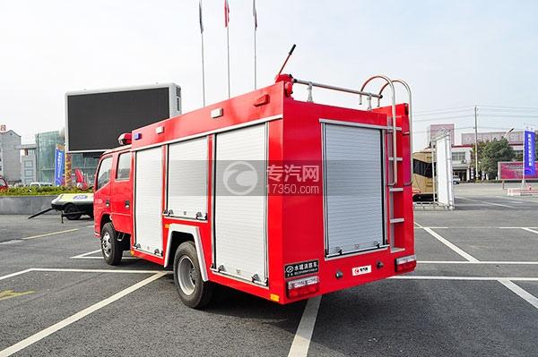 东风凯普特水罐消防车方位图4