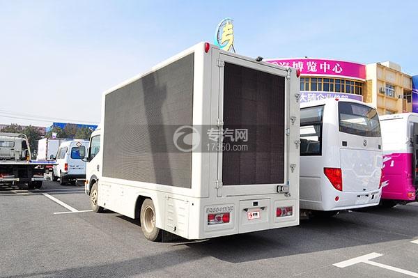 东风凯普特N280LED广告车方位图4