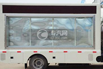 LED广告车车厢