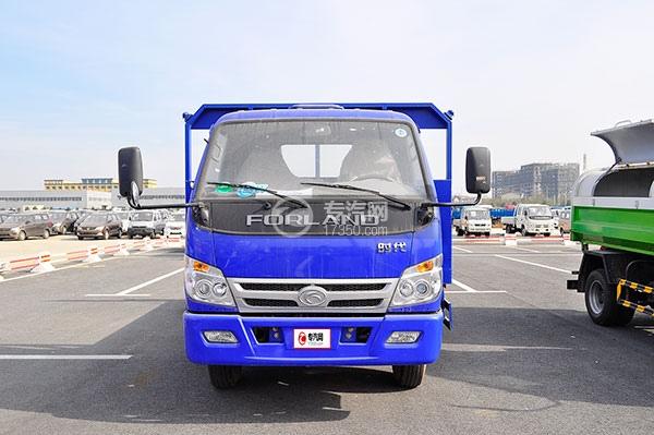 福田时代中驰D2平板运输车方位图1