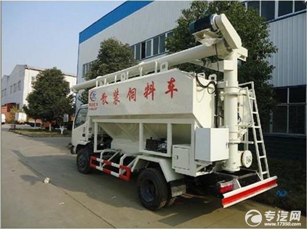 近期潞宝金和生饲料有限公司订购一辆东风散装饲料车