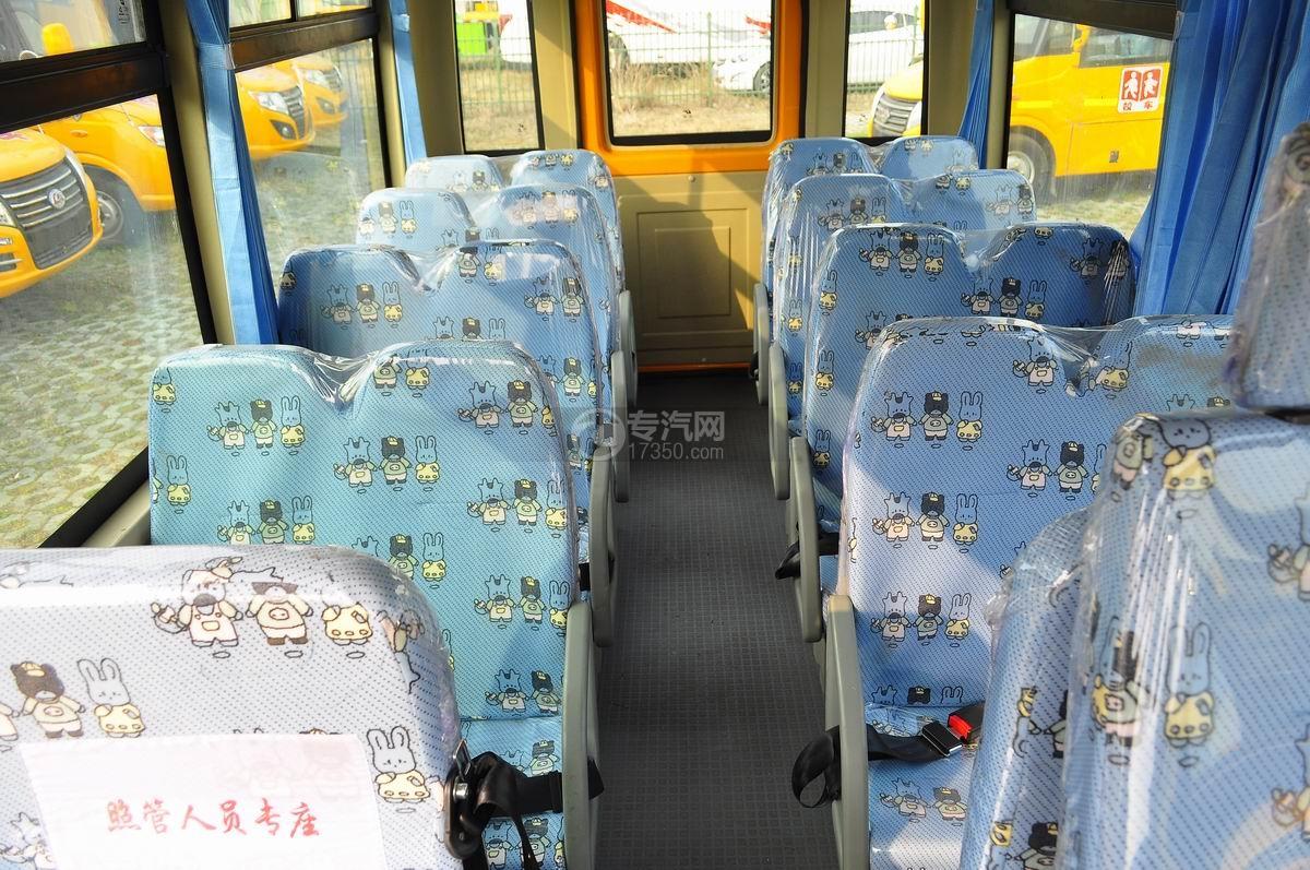 18座幼儿园校车乘坐空间整个乘坐空间