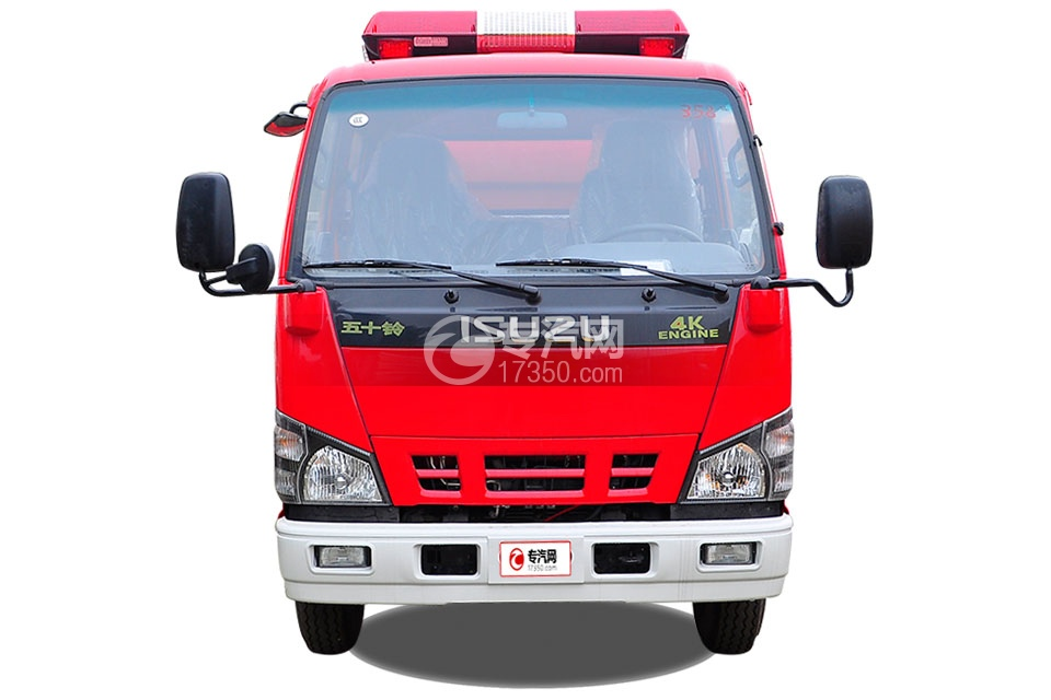 五十铃水罐消防车2