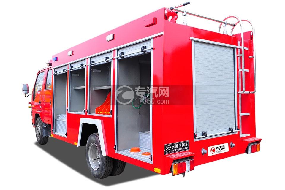 五十铃水罐消防车4