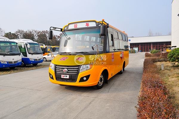 楚风国五36座幼儿园校车方位图4