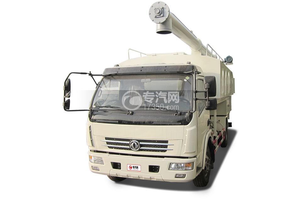 东风多利卡6吨散装饲料运输车2