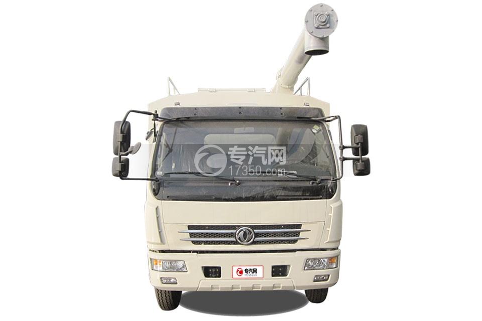 东风多利卡6吨散装饲料运输车1