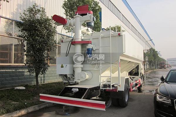 东风多利卡6吨散装饲料运输车方位图3