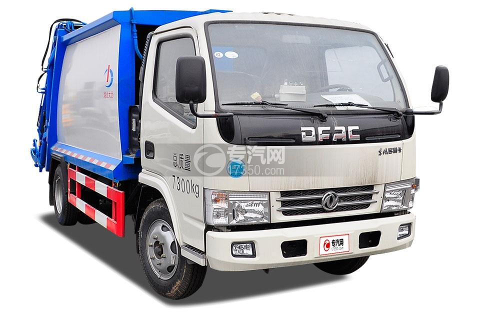 东风小多利卡4方压缩式垃圾车