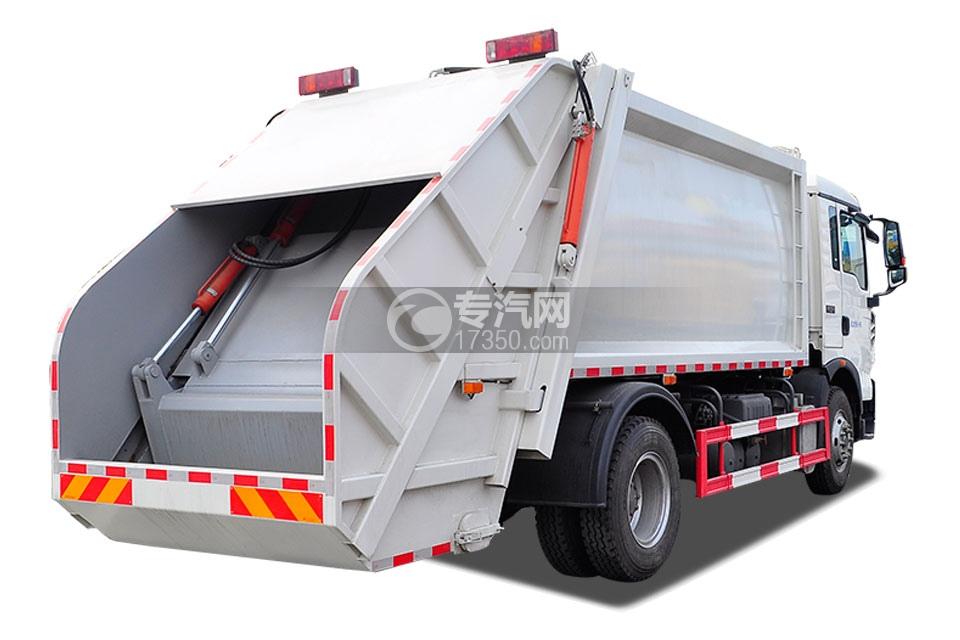 重汽豪沃单桥12方压缩式垃圾车4