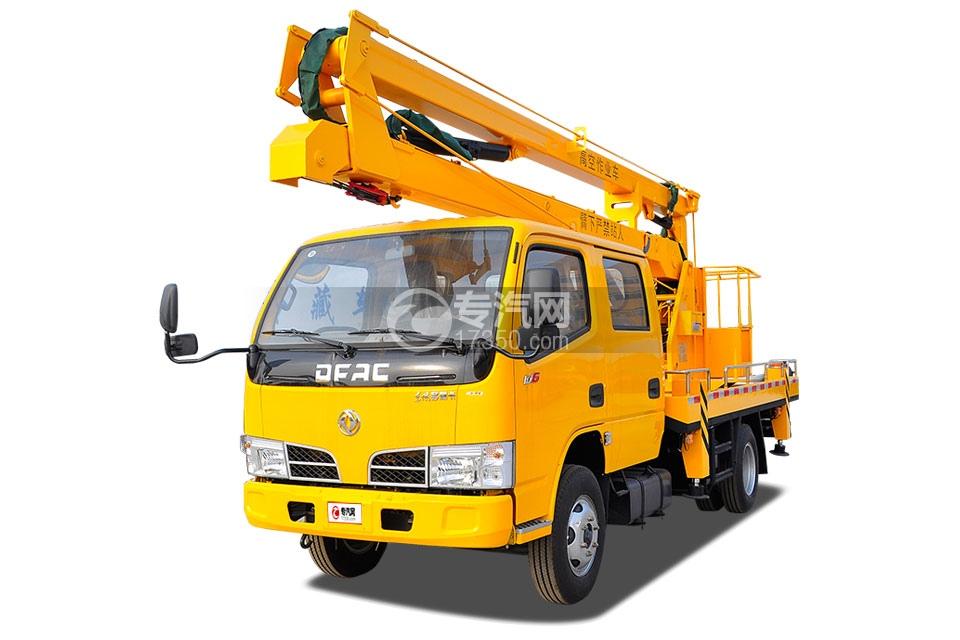 东风小多利卡双排座国五14米高空作业车