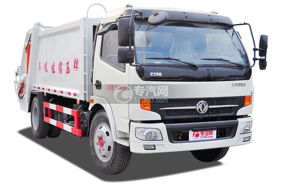 东风凯普特8方压缩式垃圾车3