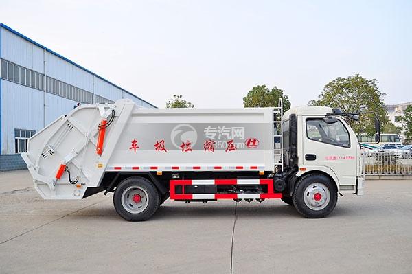东风凯普特8方压缩式垃圾车方位图4