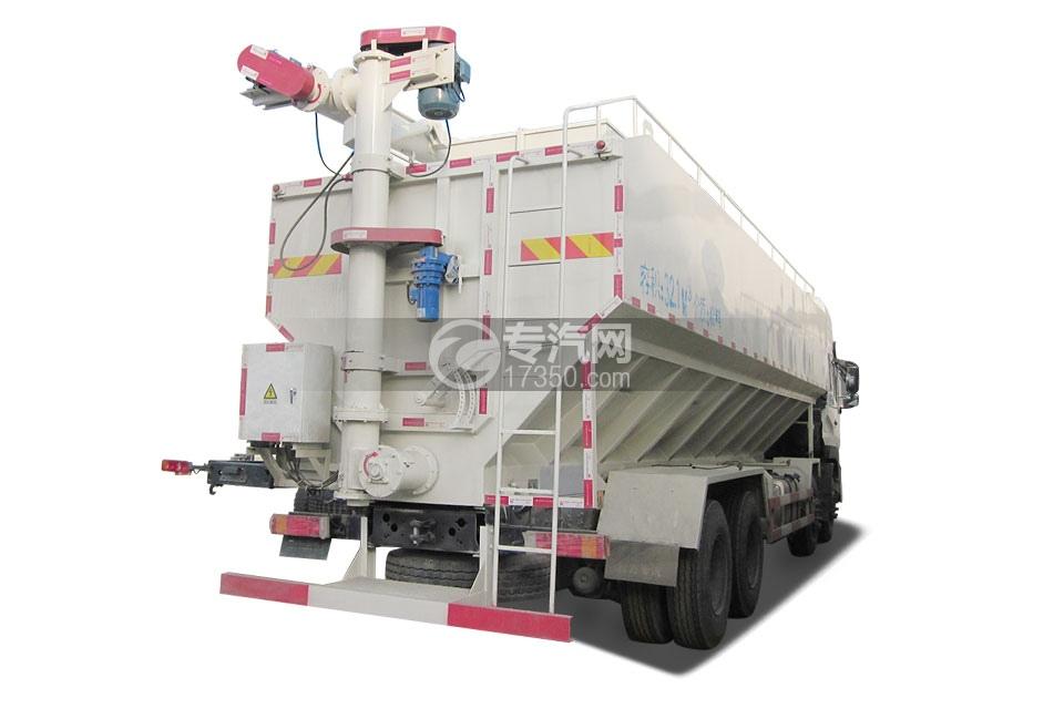 东风天龙20吨散装饲料运输车3