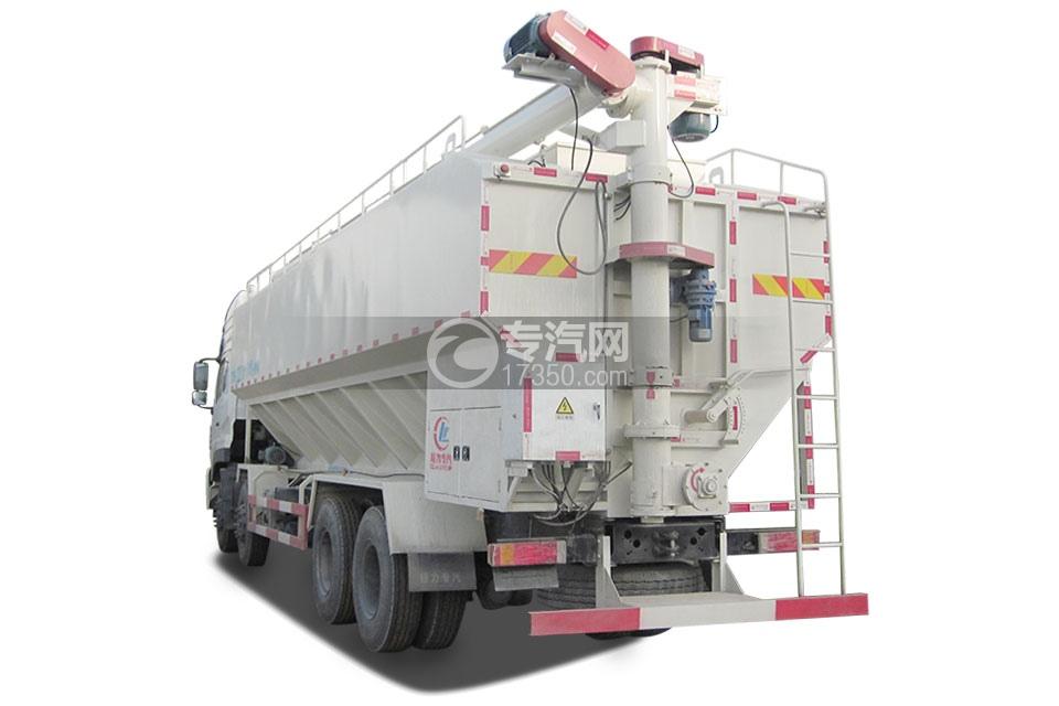 东风天龙20吨散装饲料运输车2