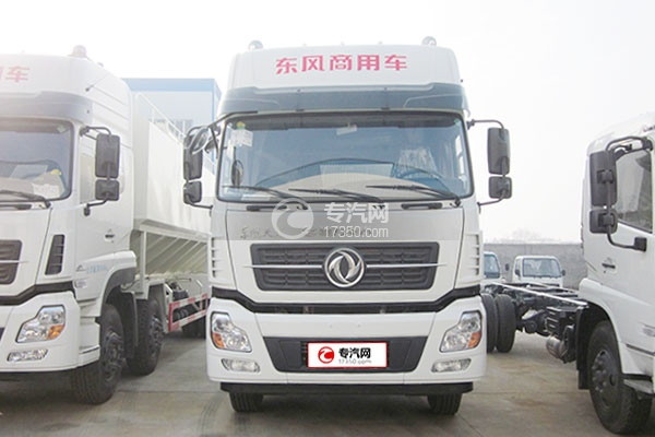 东风天龙20吨散装饲料运输车方位图1