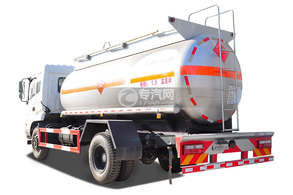 东风特商5.5方易燃液体罐式运输车3