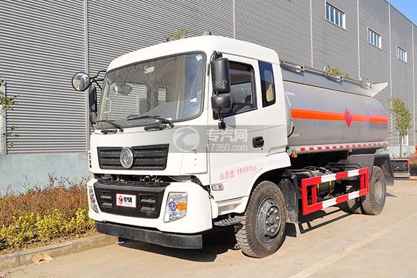 东风特商5.5方易燃液体罐式运输车方位图2