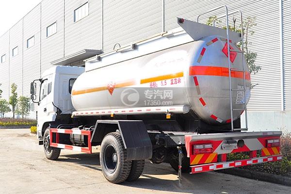 东风特商5.5方易燃液体罐式运输车方位图3