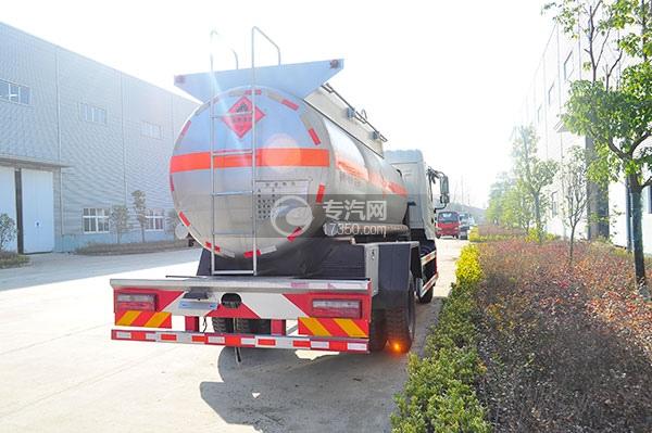 东风特商5.5方易燃液体罐式运输车方位图4