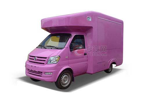 东风俊风国五流动售货车(紫色)