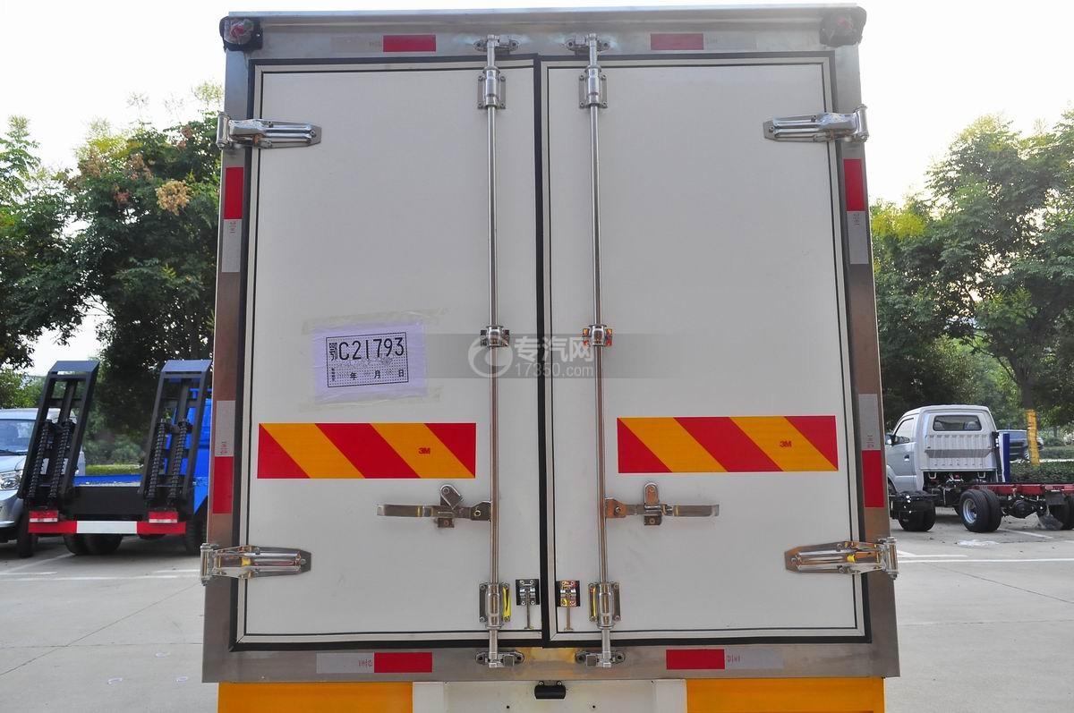 成都重汽王牌W1冷藏车厢体后门