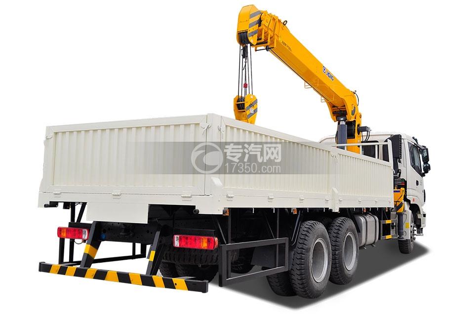 福田欧曼ETX后双桥国五10吨随车吊4