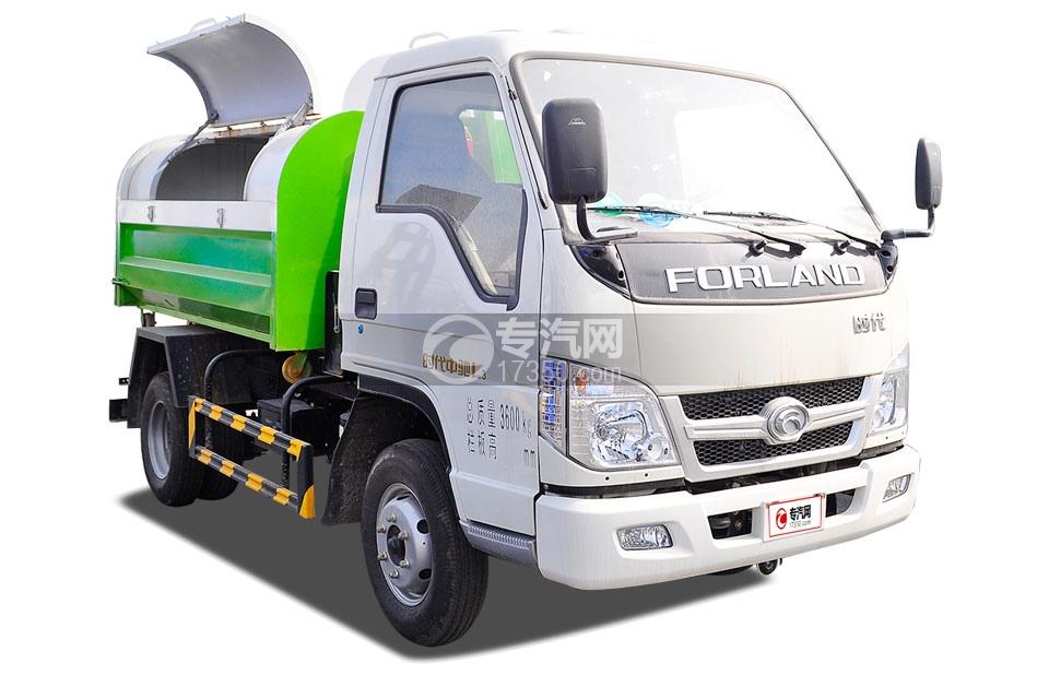 福田时代中驰L3车厢可卸式垃圾车