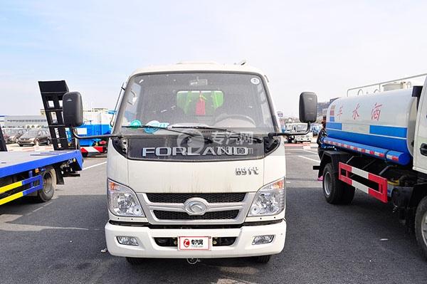 福田时代中驰L3车厢可卸式垃圾车方位图1