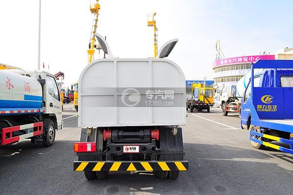 福田时代中驰L3车厢可卸式垃圾车方位图4