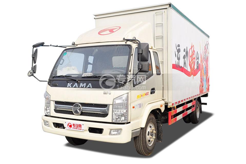 凱馬駿馳4200單橋國五5.4米舞臺車