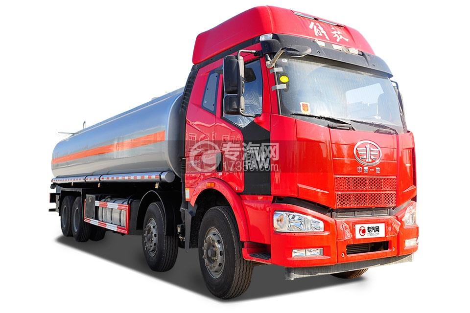 解放J6P前四后八国五28.3方供液车