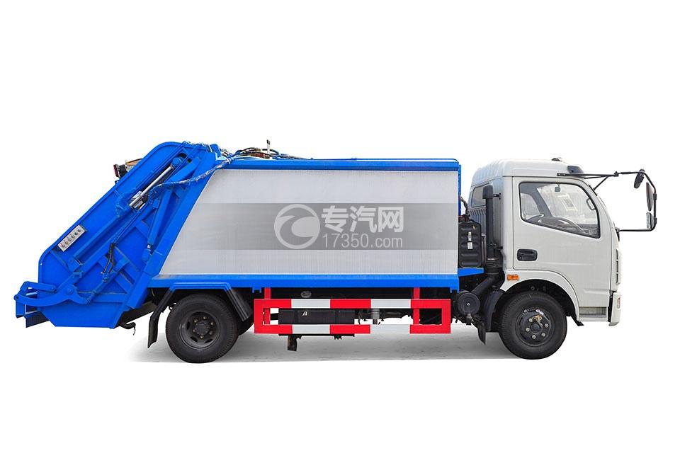 东风多利卡压缩式垃圾车3